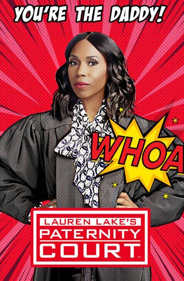 Lauren Lake's Paternity Court (series) Poster