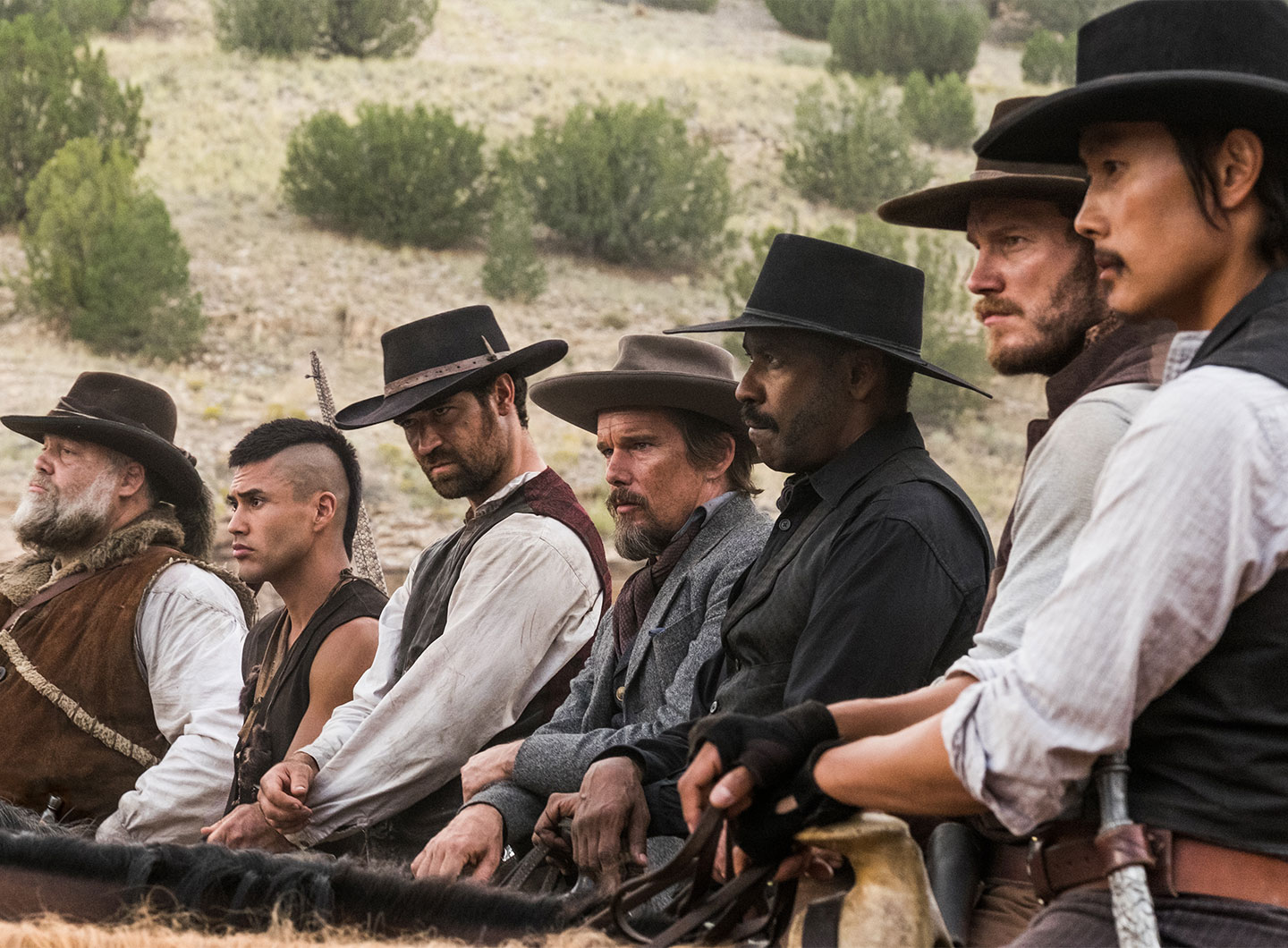 The Magnificent Seven (2016) header image